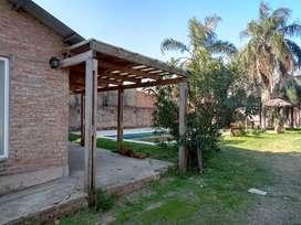 Exelente casa para descansar y disfrutar el aire libre a pocos minutos de santa fe