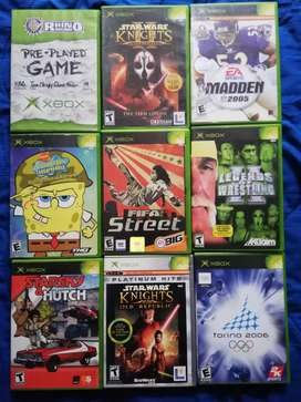 Juegos Originales Xbox clásico