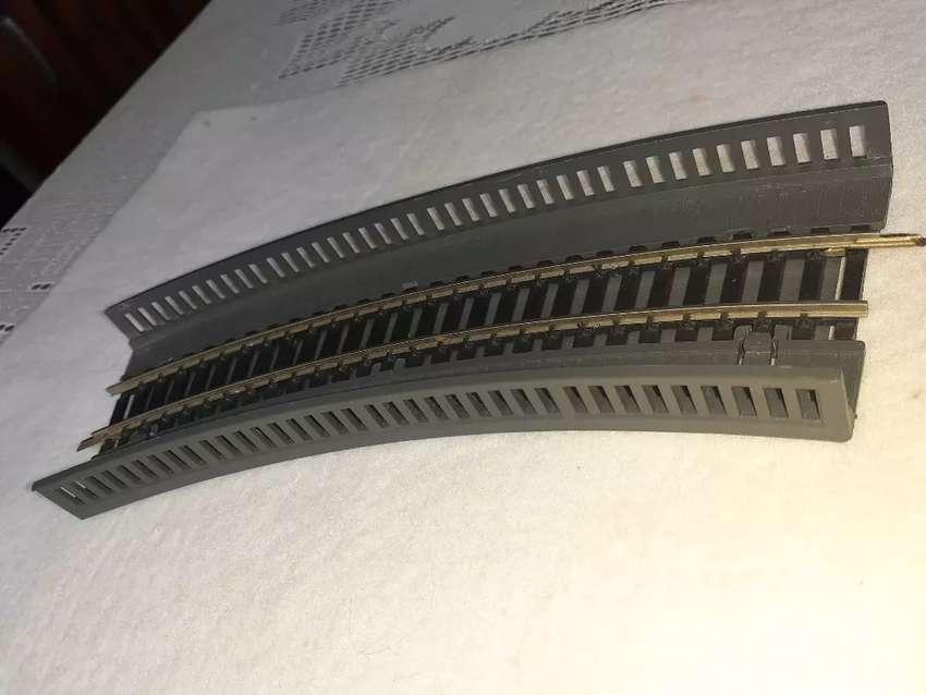 Puente baranda de tren escala HO 0