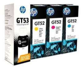 Tintas HP GT53 y GT52