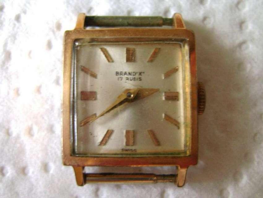 Reloj pulsera mujer Brand X 17J o rubíes a reparar o repuestos / Maxim Nord 0