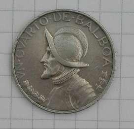 Moneda De Panama 1/4 De Balboa (1968)