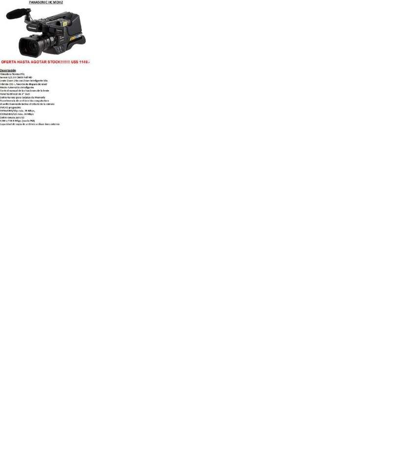 OFERTA PANASONIC HDC MD H2 0