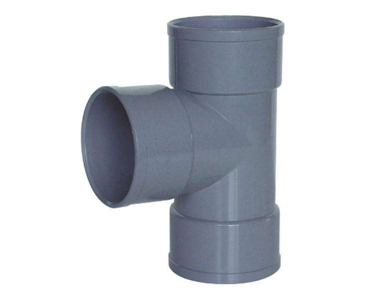 TEE PVC SOLDABLE GRIS 50 mm TIGRE 0