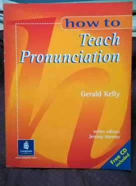Remato Libro How to teach pronunciation con Cd
