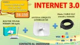 Internet 3.0 SAN LUIS - insumos para una exitosa conexión a las redes wifi gratuitas de San Luis