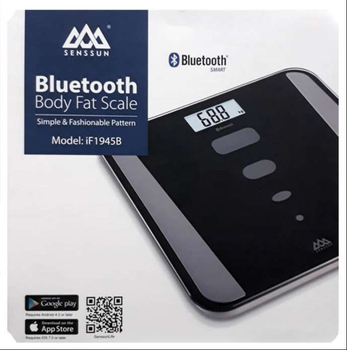 Bascula Inteligente Bluetooth SenSsun Body Fat Scale 0