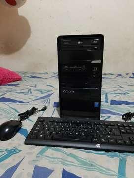 barato computador torre core i3 4 generación Windows 11