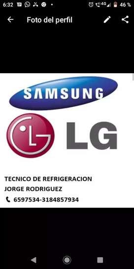 Se vende compresor inverte 12 btu lg y Samsung