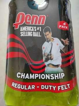 Pelotas tenis Marca Penn Regular Duty Felt x 12 Unds