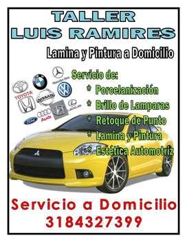 TALLER DE LAMINA Y PINTURA LUIS RAMIRES