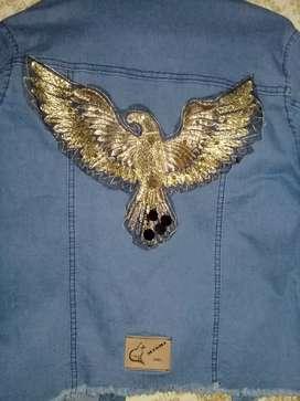 Campera de jeans nueva