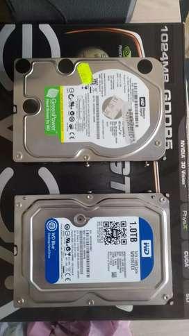 HDD 1 TB Y 750 GB