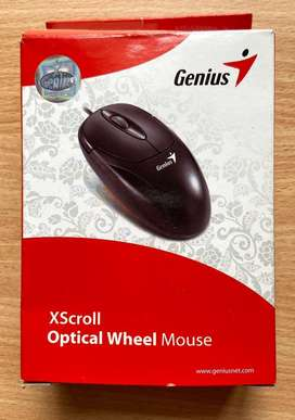 Mouse XScroll Optical Wheel – GENIUS - NUEVO