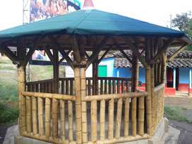 Kioscos en Guadua