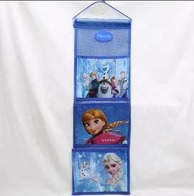 Bolsa de almacenamiento para colgar en el armario de Princesas de Disney,