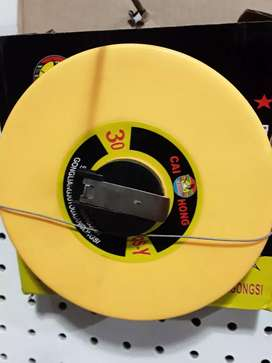 Cinta metrica 30 mts fibra