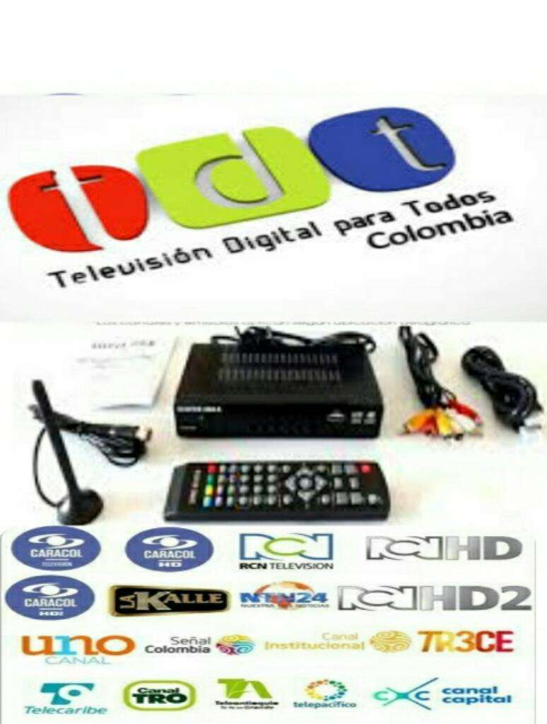 Decodificador Tdt Digital Terrestre 0