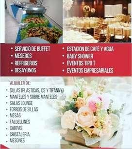 Servicio dw buffet