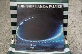Emerson Lake & Palmer. Vinilo In Concert. 1979.