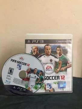 FIFA Soccer 12 PS3 (original) usado