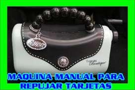 REPUJADORA DE TARJETAS DE CUMPLEAÑOS, MATRIMONIO ETC (MANUAL)MANUAL