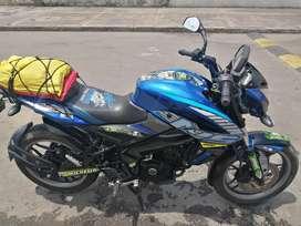 Moto Pulsar ns 200 azul