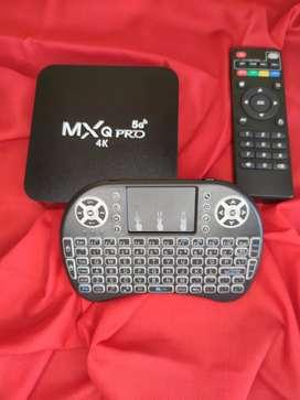 TV BOX 16/2GB + TECLADO MINI