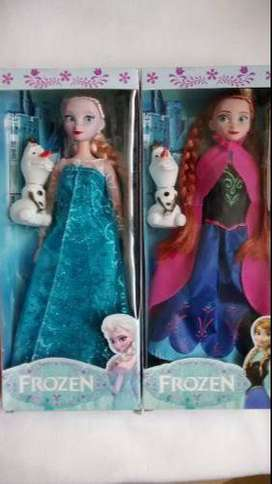 vendo  muñecas frozen