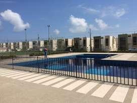 Alquiler casa amoblada en Manta en urb privada a 5 minutos de la playa