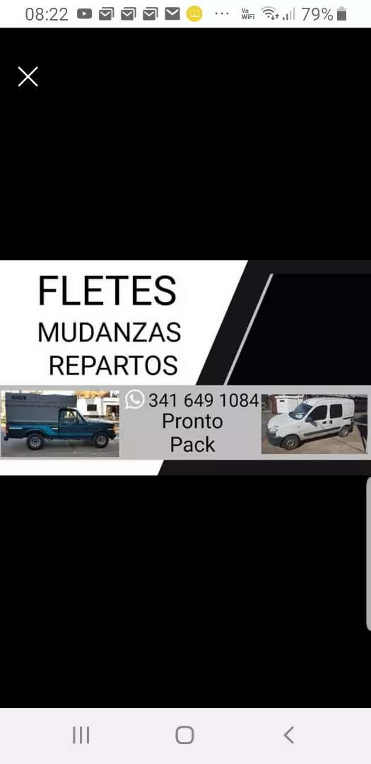 FLETES MUDANZAS y REPARTOS 0