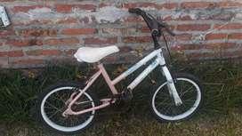 Liquido bicicleta niña