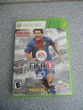 VENDO JUEGO FIFA 13 PARA XBOX 360