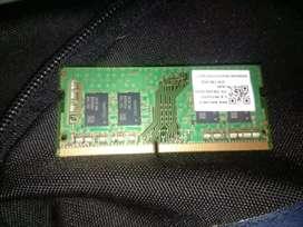 Memoria ram ddr4 de laptop