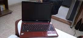Portatil Ultradelgado como nuevo Acer Procesador E1 500 HDD 4 Ram Whatsapp