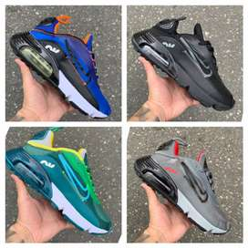 Zapatillas Nike air 4 colores hombre
