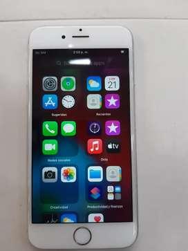 Vendo Iphone 6s de 64 gigas iOS 14 full estado con su cargador original