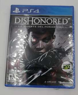 Dishonored PS4 NUEVO