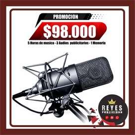 GRABACIONES DE AUDIO CALI PUBLICIDAD BTL CUÑAS JINGLES PBX CONMUTADOR ANIMADOR LOCUTOR DJS PUBLICIDAD GRABACIONES