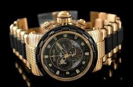 Reloj Invicta Reserve Capsule Gold Black 18k Original Y Nuevo