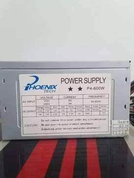 Fuente de poder Phoenix Tech de 600w
