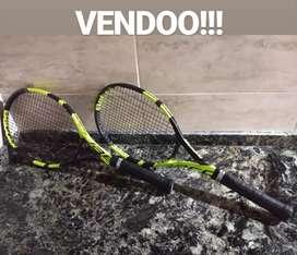 VENDO 2 RAQUETAS BABOLAT PURE AERO VS TOUR