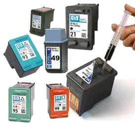 Recargas para Impresoras laser y tinta