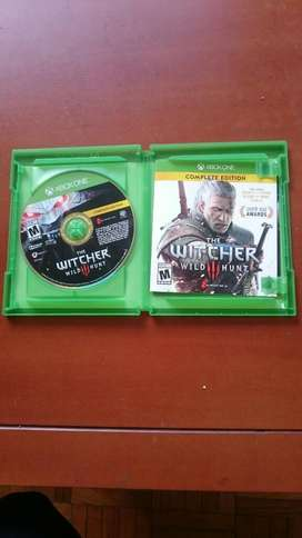 Juego Xbox One The Witcher3