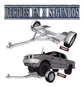 Planos  Remolques Trailers Grua Carabana Auto Camionetas
