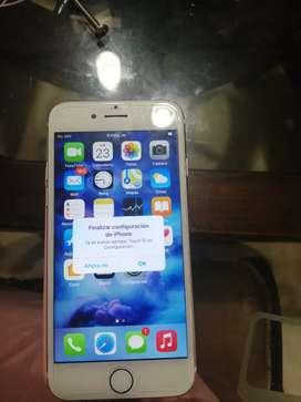 Gangazo a la venta teléfono iPhone 7 de 128 gb en perfectas condiciones ojo lo único q no le sirve es la huella