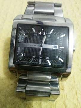 Reloj Armani Exchange Para Hombre Ax2200 Tablero Negro
