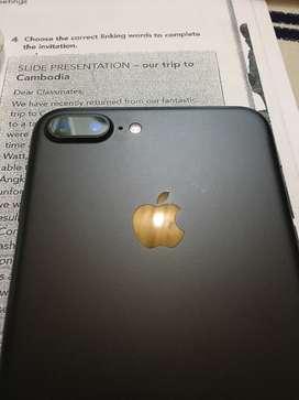 Iphone 7 plus de 128gb Negro mate