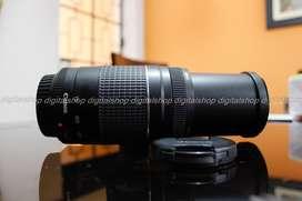 Lente Canon Ef 75-300mm III F/4-5.6 más Parasol Casi nuevo!