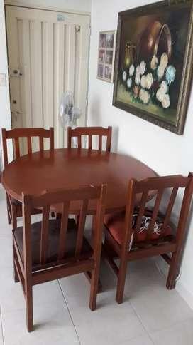Se vende sala comedor en perfecto estado